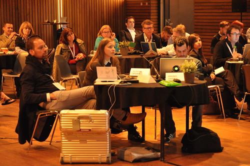 Social Now Europe 2015: participants