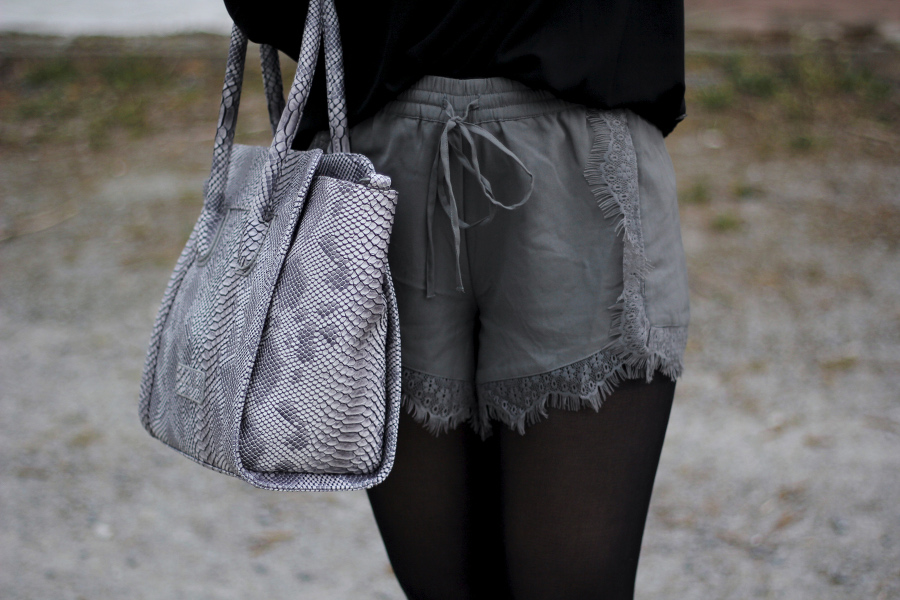 outfit-detail-shorts-tasche-aboutyou-fritzi-veromoda-grau-frühling-trend-2015