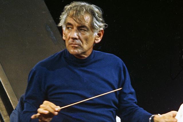 Leonard Bernstein in 1973. Courtesy Allan Warren/WikiCommons