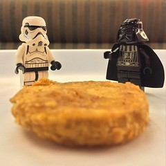 stormtrooper: what is this thing, lord vader? darth vader: it's shakey's tribute to me on #MayTheFourth. they call it a mojo