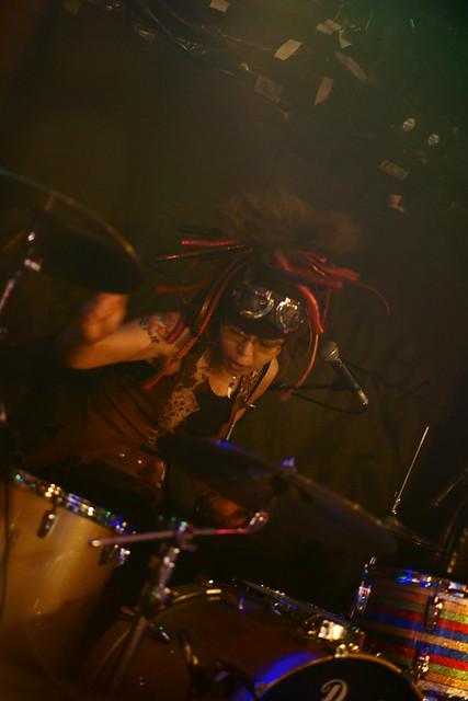Coal Tar Moon live at Outbreak, Tokyo, 20 Apr 2015. 068