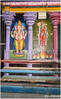 Wall painting inside Ekambareshwar Temple in Kanchipuram