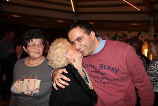 L'assessore Paolo Mazzone in una delle feste degli anziani