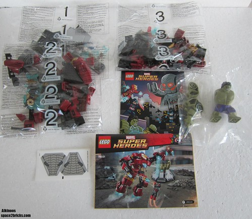 Lego 76031 The Hulk Buster Smash p4