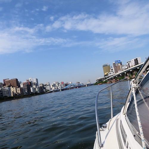 ボート日和でしたね。