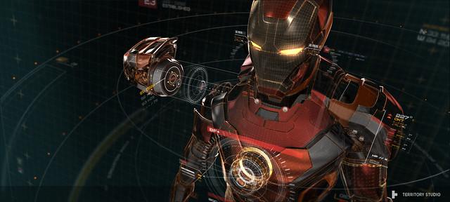 10部影片讓你看清楚《復仇者聯盟2》的精彩人機介面與UI設計!