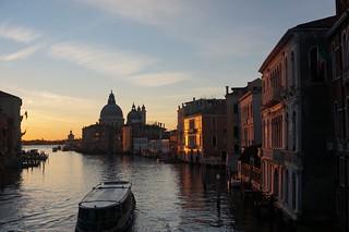 Sunrise and the Basilica di Santa Maria della Salute