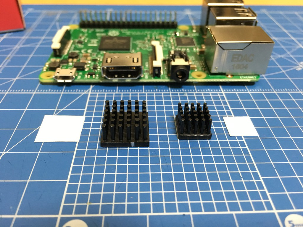 RSPi3 Heat Sink - 3rd Party