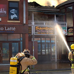 Another fire at Sandos in Preston - 7