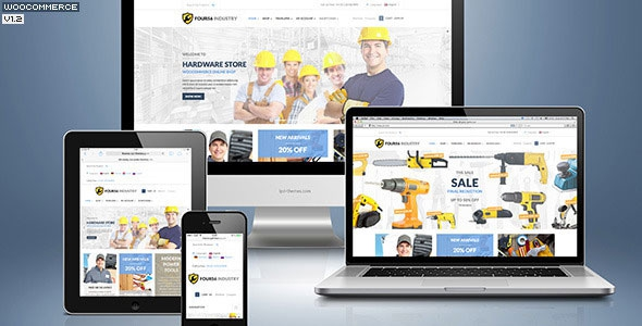 456Industry v1.4.2 – Repair Tools Shop & Construction / Building / Renovation WP Theme