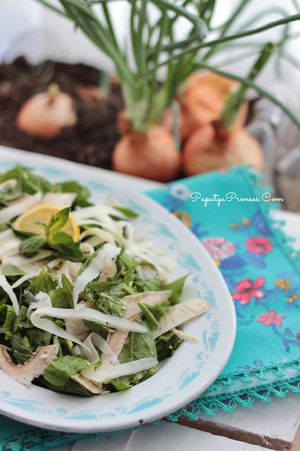 çiğ enginar salatası (8)