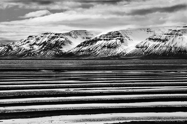 Iceland (almost) abstract