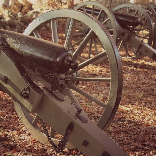 Gettysburg NMP ~ Confederate Ave cannons - HSS!