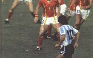 Mondiale 1986 Argentina-Belgio 2-0