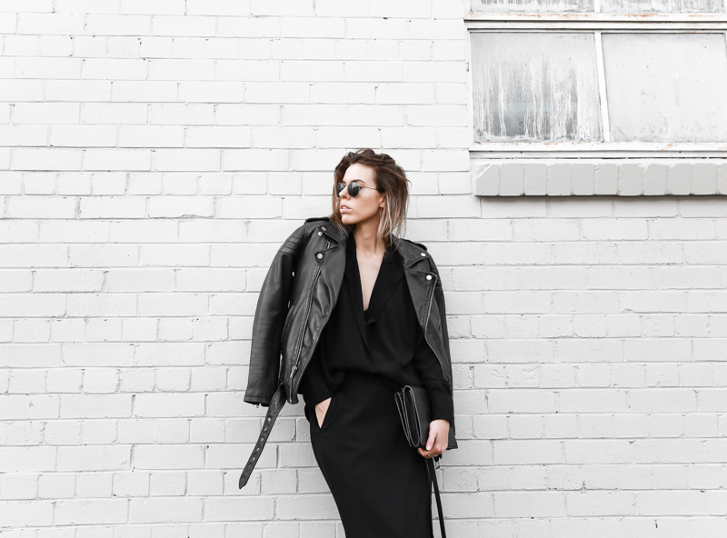 modern legacy, fashion blog, street style, leather biker jacket, BC x MODERN LEGACY, all black (1 of 1)