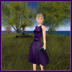 Purple Moon, Dress Me Purple Hunt: Maureen Dress (Hunt #9)