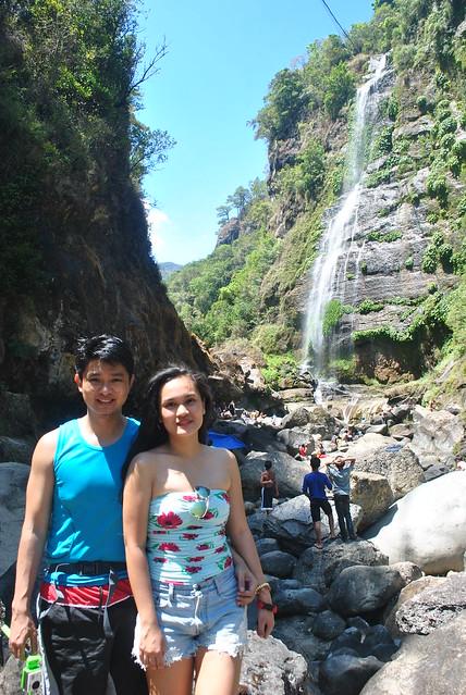 Nikko and Janna Bomod-Ok Falls