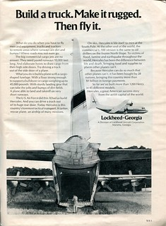 1973 Lockheed - Georgia Advertisement Newsweek April 2 1973