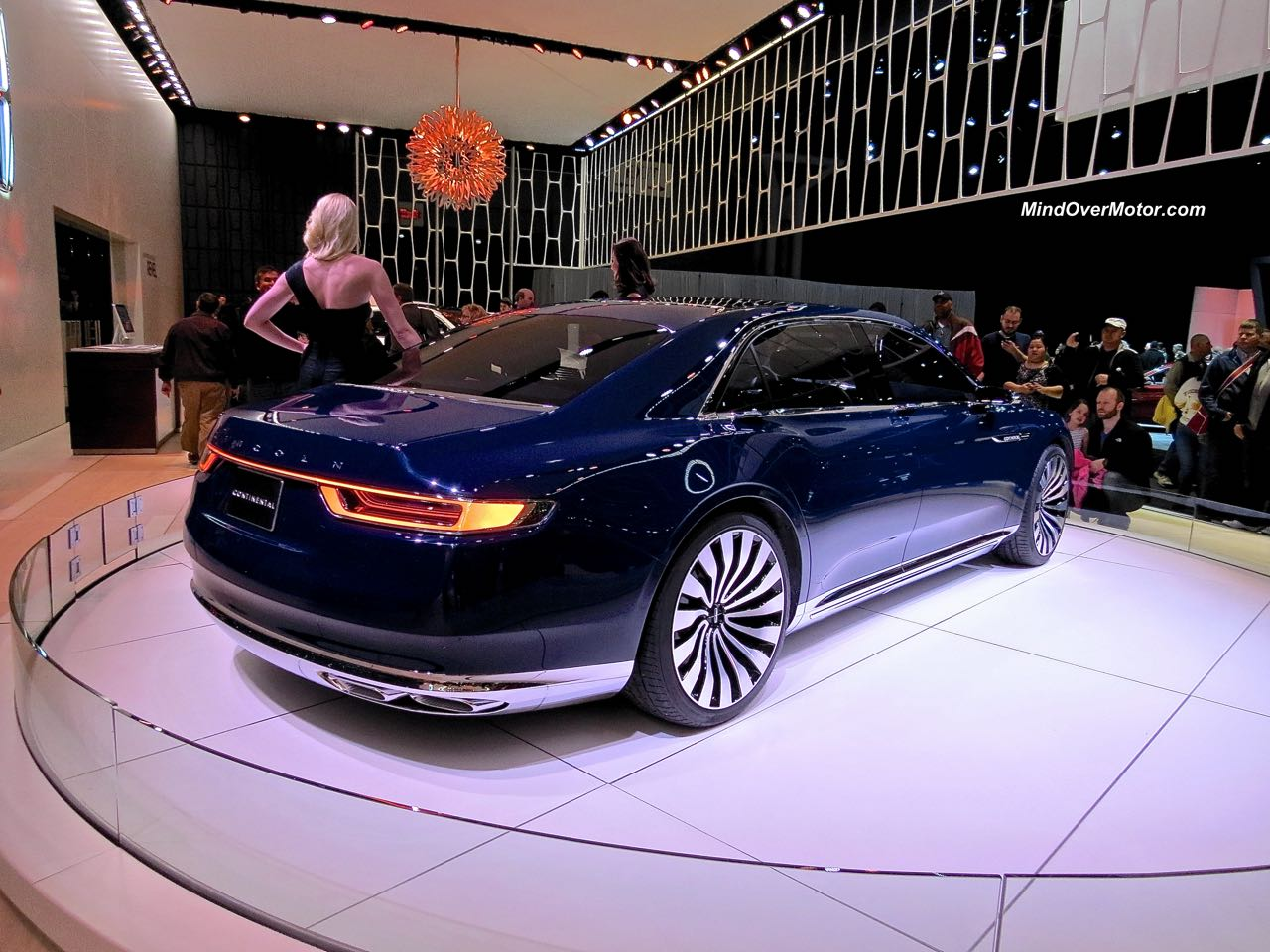 Lincoln Continental Concept Rear