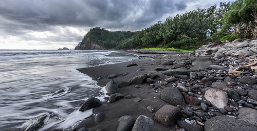 Black Sand Beach by Geoff Livingston