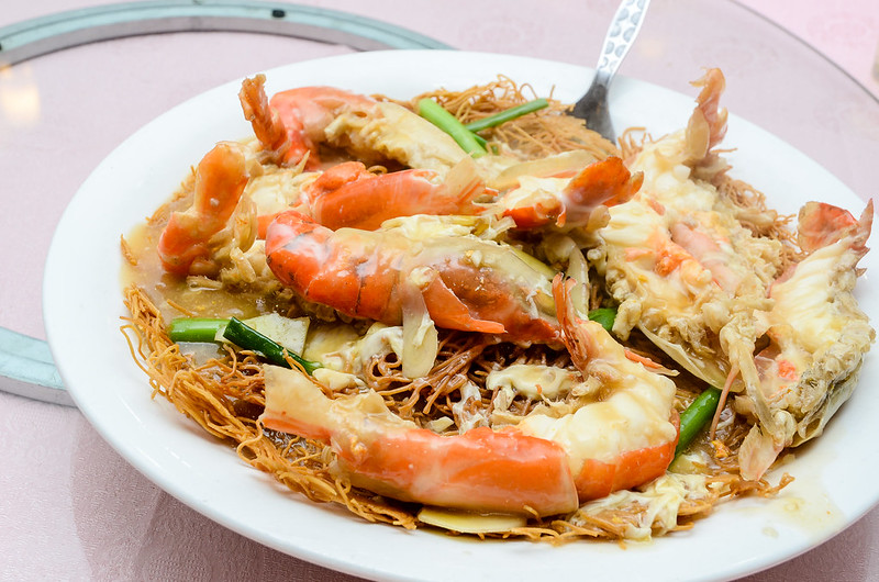 Green View Restaurant 长青海鲜饭店's freshwater prawn