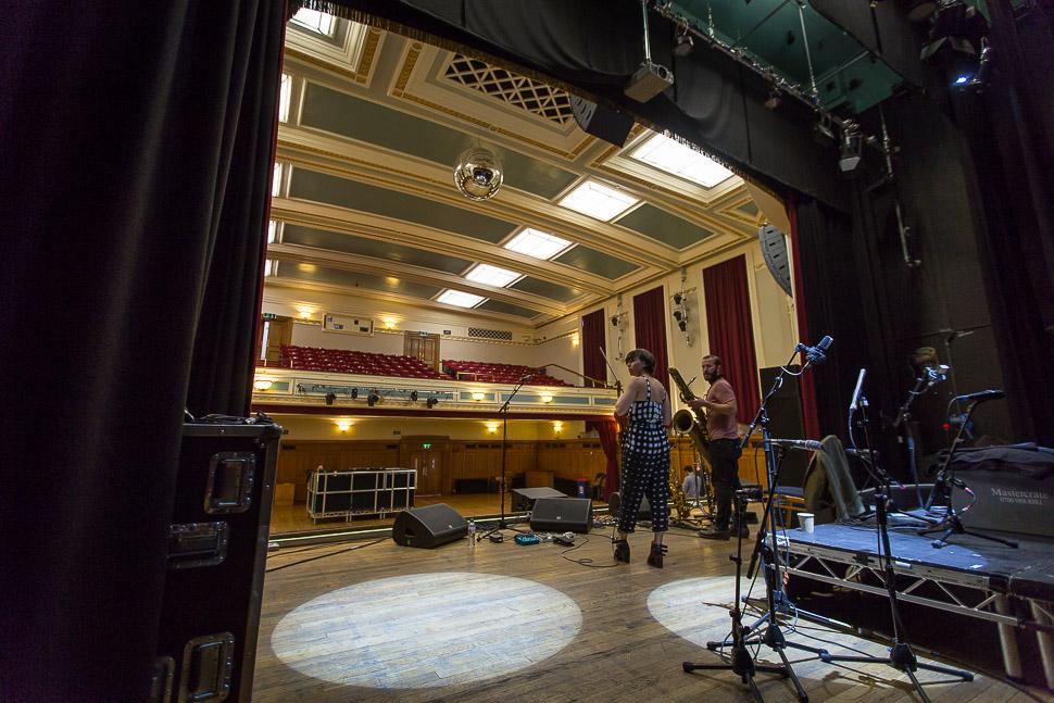 Colin Stetson and Sarah Neufeld live at Islington Assembly Hall, London 17/04/15