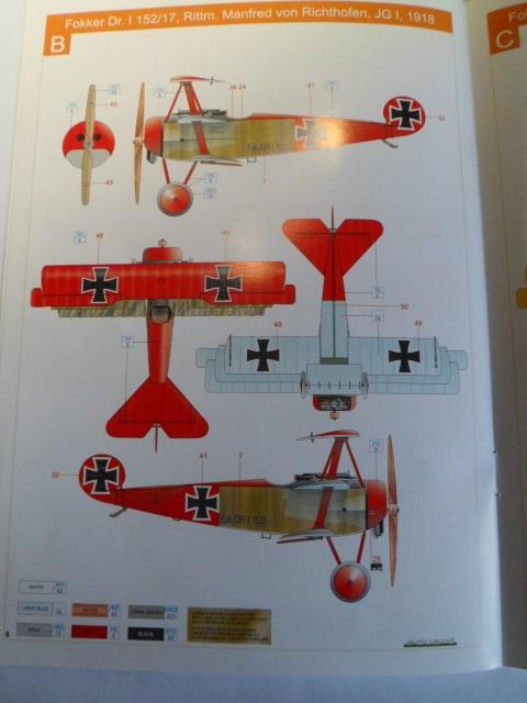 Ouvre-boîte Fokker DR.I  [Eduard 1/72] 17050698110_ac56291f49_o