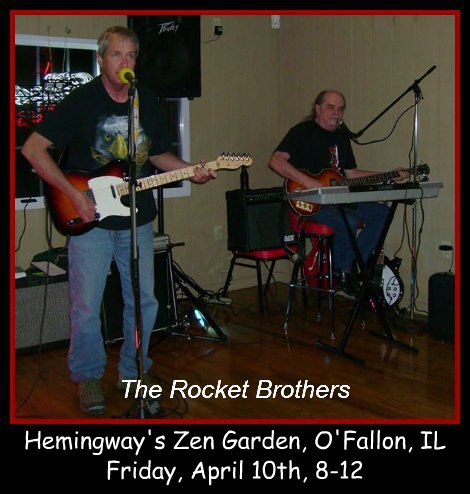 The Rocket Brothers 4-10-15