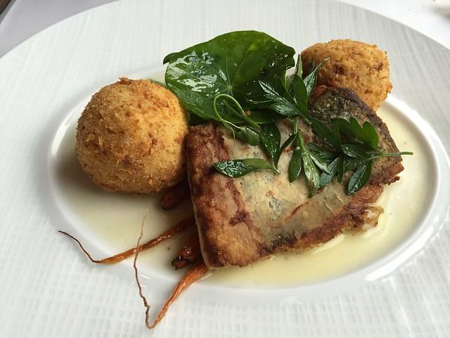 Pan seared flounder - Restaurant Gwendolyn