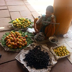 #fruit #seller #chandigarh #india #market