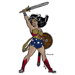 #WonderWoman by Darwyn Cooke. #Comics
