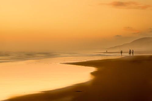 sunset misty port canon southafrica fishing soft surf elizabeth dusk tripod za easterncape softtones heathaze beachcasting nelsonmandellabay