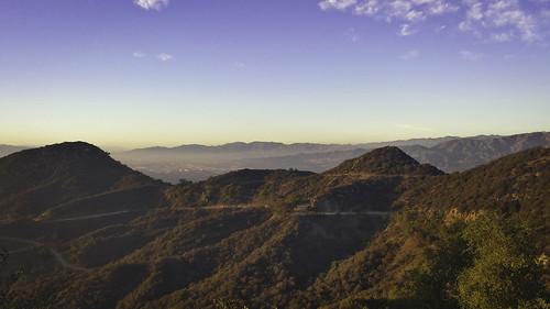 blue sky usa west nature landscape coast la los scenery skies angeles hiking hills hollywood travellling
