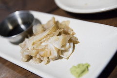 Geoduck Crudo with Wasabi and Tamari, Hog Island Oyster Co., Ferry Building Marketplace, San Francisco