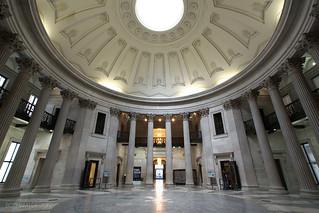 New York City | Federal Hall Rotunda 01
