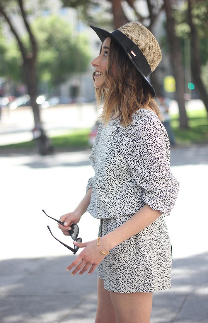 Black and White Jumper Zara Hat Uterqüe 15