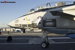 158978 NH-205 - 39 - US Navy - Grumman F-14A Tomcat - USS Midway Museum San Diego, California - 141223 - Steven Gray - IMG_6579