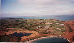 St Mary's Isles of Scilly from the air, 1996 -