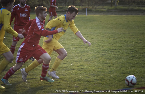 Cliffe FC 2ndXI 3 - 0 F1 Racing Reserves 27Apr15