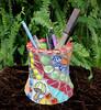 Mosaic Pencil Utensil Cup Mini Flower Pot