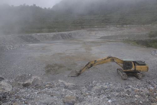 太魯閣富山石礦現勘側記。圖片來源:地球公民基金會