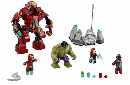 LEGO 76031 The Hulk Buster Smash 00