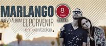 Cartel anunciador del concierto de Marlango en el Ermua Antzokia