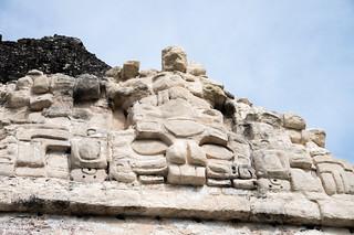 Attēls no Temple II pie Tikal. guatemala tikal petén