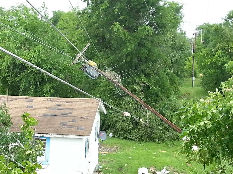 Oncor Crews Tackle Devastation Left By Van Texas Tornado