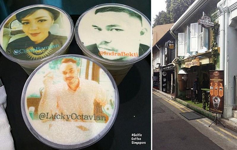 Indonesian celebrities visit Selfie Coffee Singapore - Alvinology