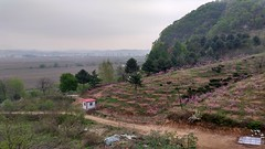 Hushan Great Wall of China near Dandong