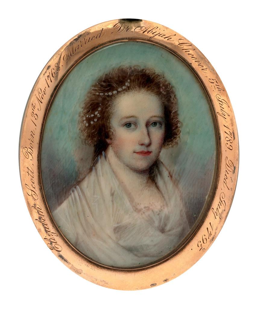 Elizabeth Scott by Nathaniel Hancock, 1795
