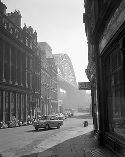 The Tyne Bridge from The Side