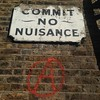 No nuisance SE1 (Great Guildford St) #london #anarchy #politeness